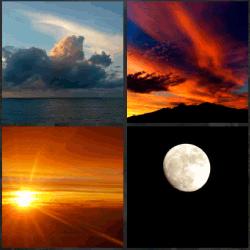 1 palabra 4 fotos nubes