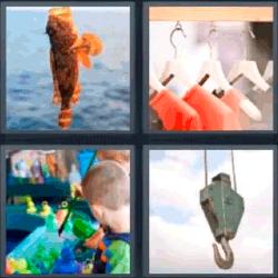 4 fotos 1 palabra pez