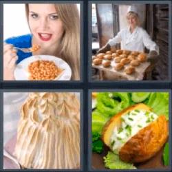4 fotos 1 palabra pastelero