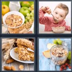 4 fotos 1 palabra desayunos