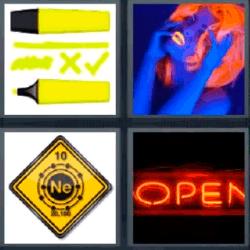 Soluciones-4-Fotos-1-palabra-neon