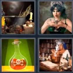 4 fotos 1 palabra veneno 2