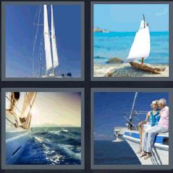 4 fotos 1 palabra veleros