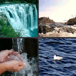 1 palabra 4 fotos agua catarata