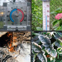 1 palabra 4 fotos termómetro escarcha