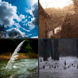 1 palabra 4 fotos nubes lluvia