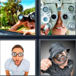 4 fotos 1 palabra de 5 letras