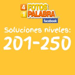 Respuestas nivel 201 a 250
