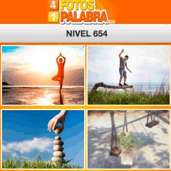 4 fotos 1 palabra FB nivel 654