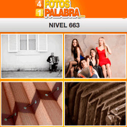 4 fotos 1 palabra FB nivel 663