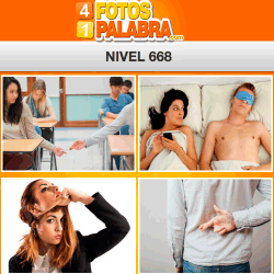 4 Fotos 1 Palabra Facebook Nivel 668