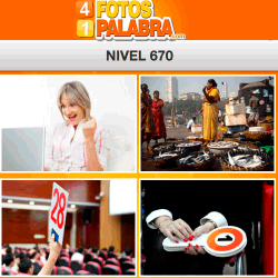 4 fotos 1 palabra FB nivel 670