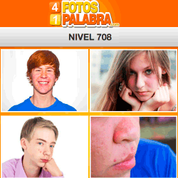 4 Fotos 1 Palabra Facebook Nivel 708