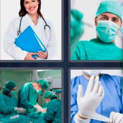 Soluciones 4 Fotos 1 palabra cirujano