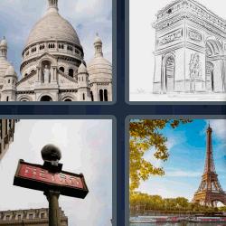 4 fotos 1 palabra Torre Eiffel