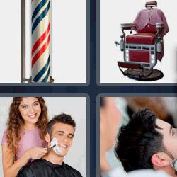4 fotos 1 palabra peluquería
