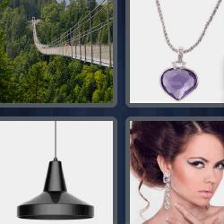 cuatro fotos una palabra puente