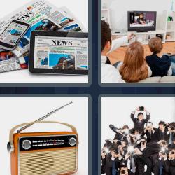 4 fotos 1 palabra radio