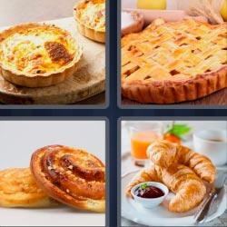 4 fotos 1 palabra croissant