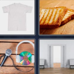 4 fotos 1 palabra pan tostado
