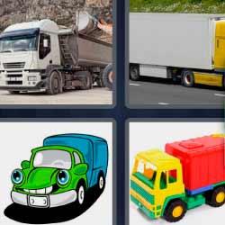 4 fotos 1 palabra transporte