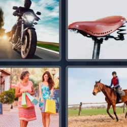 4 fotos 1 palabra caballo compras moto