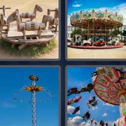 4 fotos 1 palabra tiovivo
