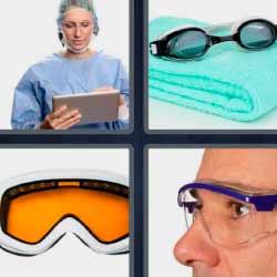 5 letras 4 fotos 1 palabra doctora