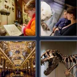 4 fotos 1 palabra dinosaurio