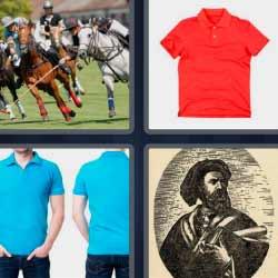 4 fotos 1 palabra caballos deporte