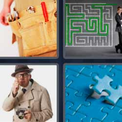 4 fotos 1 palabra laberinto