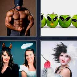 4 fotos 1 palabra luchador