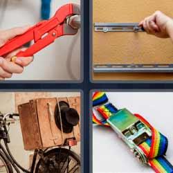 4 fotos 1 palabra llave inglesa