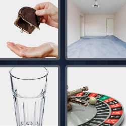 4fotos 1palabra monedero ruleta