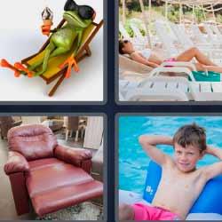 4 fotos 1 palabra hamaca
