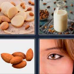 4 fotos 1 palabra leche