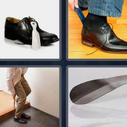 4 fotos 1 palabra zapato