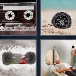 4 fotos 1 palabra cassette