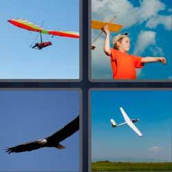 4 fotos 1 palabra avioneta