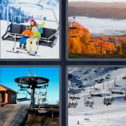 4 fotos 1 palabra teleférico
