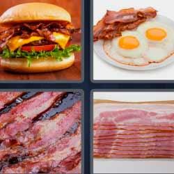 4 fotos 1 palabra hamburguesa