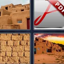 4 fotos 1 palabra casas de barro pdf