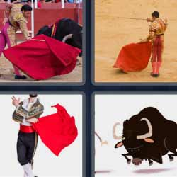 4 fotos 1 palabra torero