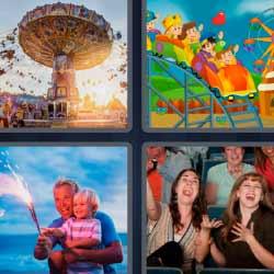 4 fotos 1 palabra noria