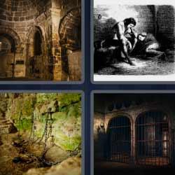 4 fotos 1 palabra cárcel