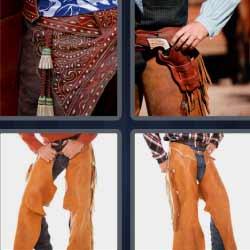 4 fotos 1 palabra pantalón vaquero
