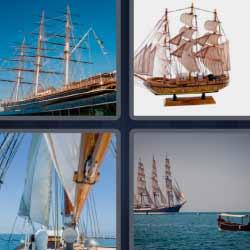 4 fotos 1 palabra carabela