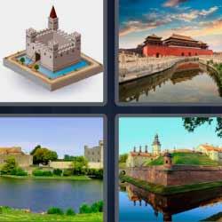 4 fotos 1 palabra castillos