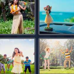 4 fotos 1 palabra hawayanas