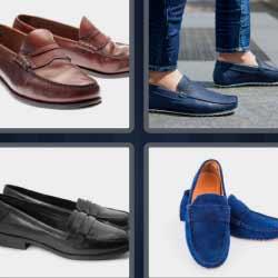 4 fotos 1 palabra zapatos azules